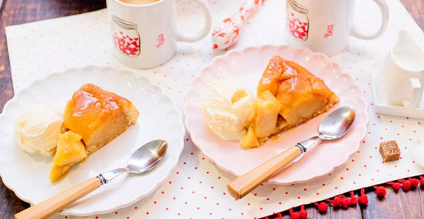 Протеиновый пирог с яблоками (видео рецепт)