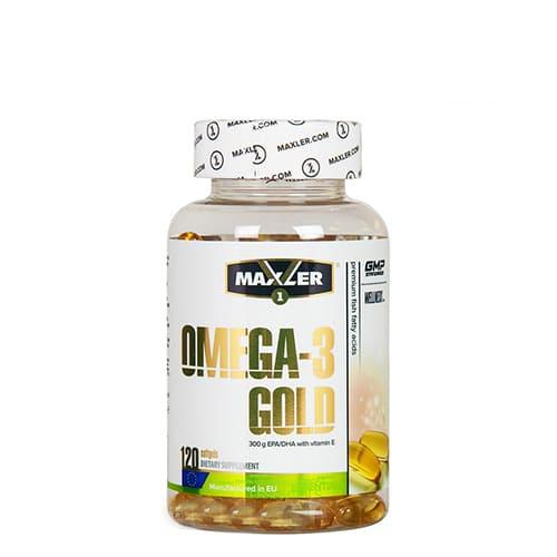 Maxler: Omega-3 Gold (120 капсул)