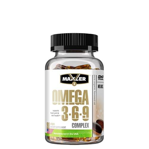 Maxler: Omega 3-6-9 Complex (90 капс)