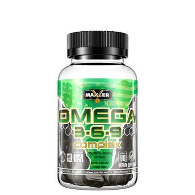 Maxler: Omega 3-6-9 Сomplex (90 капс)