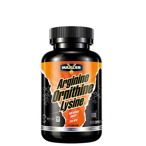 Maxler: Arginine Ornithine Lysine (100 капс)