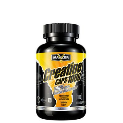 Maxler: Creatine caps 1000 (100 капс)