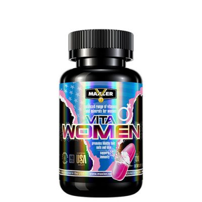 Maxler: VitaWomen (120 таб, 60 порций)