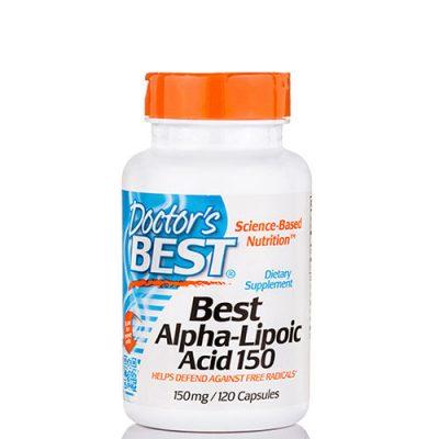 Doctor's Best: Alpha-Lipoic Acid (150 мг, 120 капс)