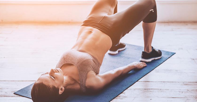 Лучшие домашние упражнения для женщин