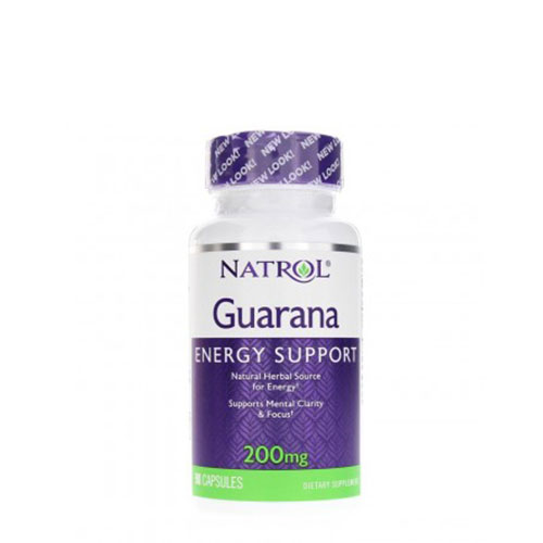 Natrol: Guarana (200 мг, 90 капс)