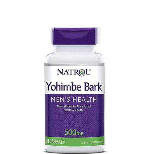 Natrol: Yohimbe (500 мг, 90 капс)