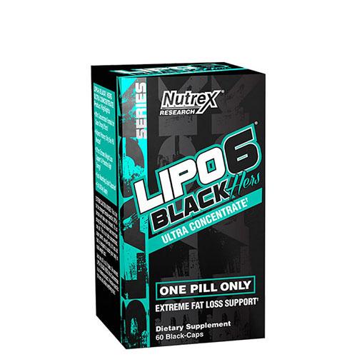 Nutrex: Lipo-6 Black Hers Ultra (60 капс)