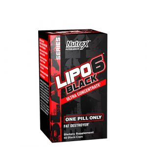 Nutrex: Lipo-6 Black Ultra Concentrate (60 капс)