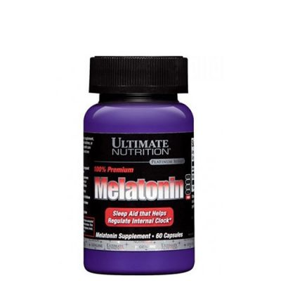 Ultimate Nutrition: Melatonin (3 мг, 60 капс)