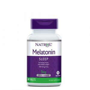 Natrol: Melatonin (3 мг, 60 капс)