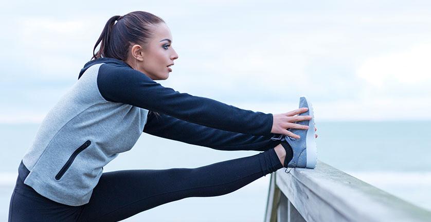 Растяжка мышц перед тренировкой