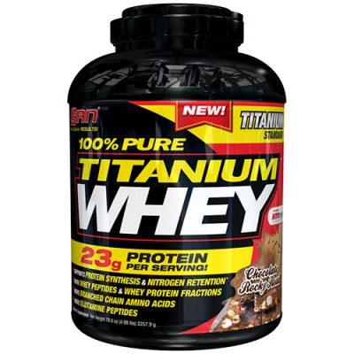 SAN: 100% Pure Titanium Whey (2270 г, 75 порций)