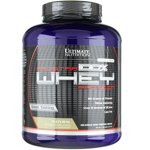Ultimate Nutrition: Prostar whey (2390 гр)