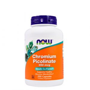 NOW: Chromium Picolinate (200mcg/100 капсул)