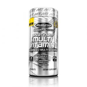 MuscleTech: Platinum Multivitamin (90 капс)