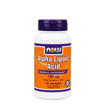 NOW: Alpha Lipoic Acid (100мг/60 капс)