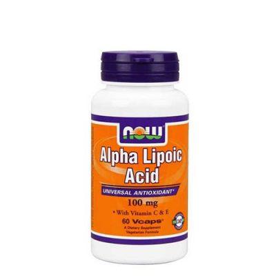 NOW: Alpha Lipoic Acid (100мг/60 капс)