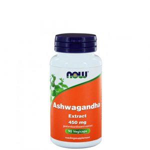 NOW: Ashwagandha (450 mg, 90 капс)
