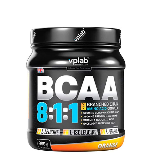 VP Laboratory: BCAA 8:1:1 + глютамин (300гр)