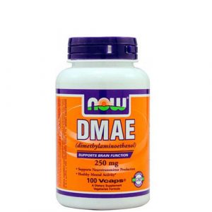 NOW: DMAE (250 мг, 100 капс)