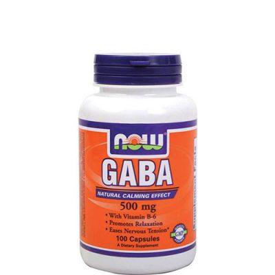 NOW: GABA 500 мг (100 капс)