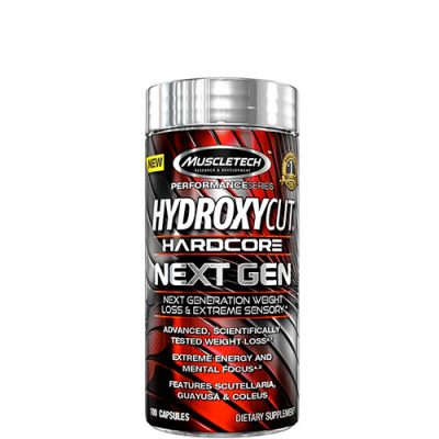 MuscleTech: Hydroxycut (100 капсул, 50 порций)