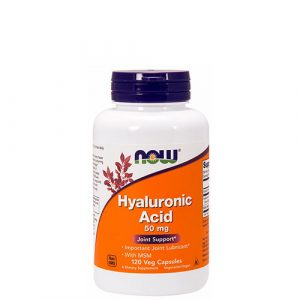 NOW: Hyaluronic Acid (50 мг, 60 капс)