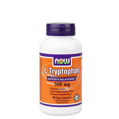 NOW: L-Tryptophan (500 мг, 120 капс)