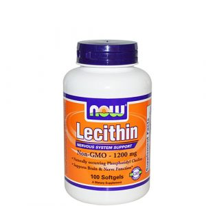 NOW: Lecithin (1200 мг, 100 капс)