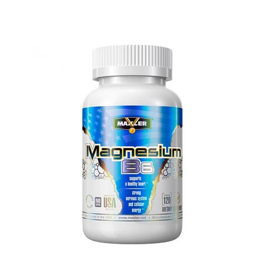 Maxler: Magnesium B6 (120 таб)