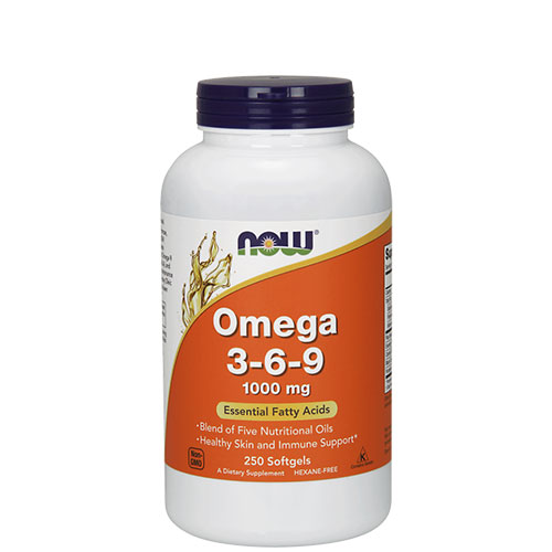 NOW: Omega 3-6-9 (250 капс)