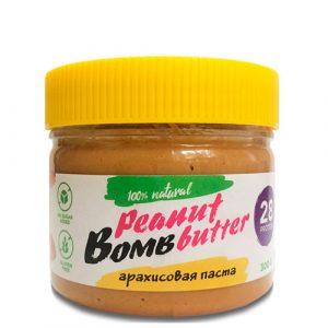 BOMBBAR: Арахисовая паста (300 гр)