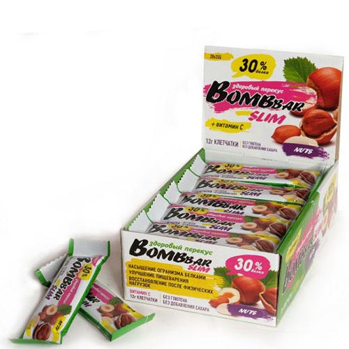 BOMBBAR: Батончики Slim (35 гр)