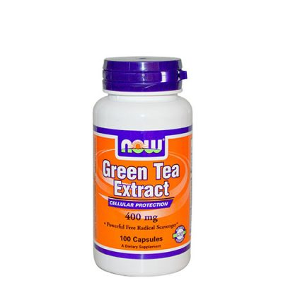 NOW: Green Tea Extract (400 мг, 100 капс)