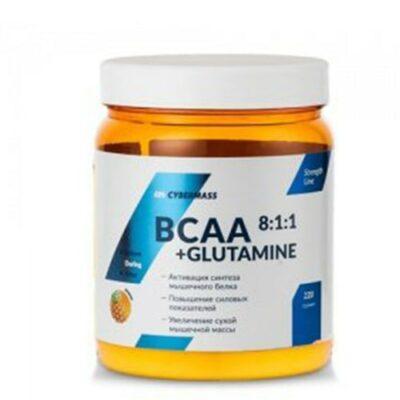 CyberMass: BCAA 8:1:1+Glutamine (220 гр)