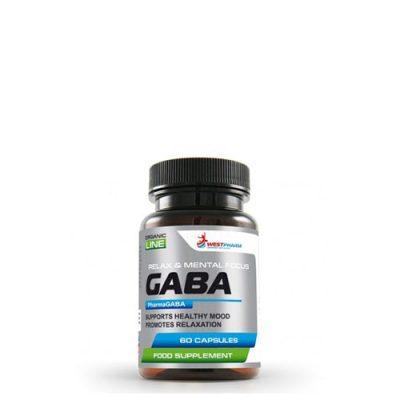 GABA / ГАМК (гамма-аминомасляная кислота) 200mg (60 капс)