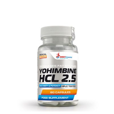 WestPharm: Yohimbine Hydrochloride (60 капс)