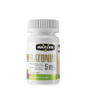 Maxler: Melatonin Fast Sleep 5 мг (60 таб)