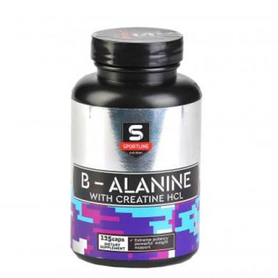 SportLine B-Alanine + Creatine HCL 125 caps