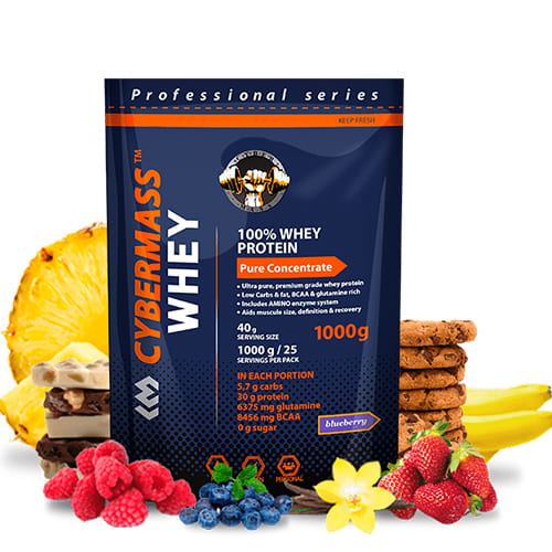 CyberMass: Whey Protein (1000 гр)