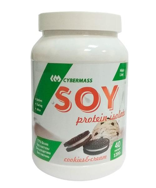 CyberMass Soy protein 1200 g