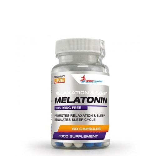 WestPharm Melatonin 60 caps