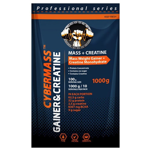CyberMass Gainer with creatine 1000 g
