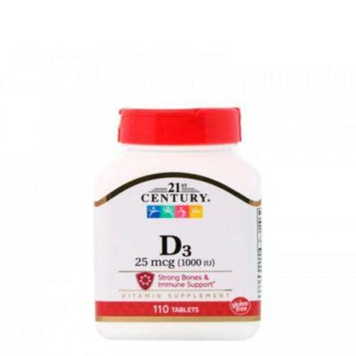 21st Century: Vitamine D-3 (110 таб)
