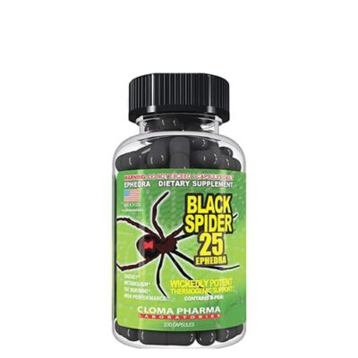 CLOMAPHARMA: Black Spider (100 капс)