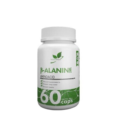 Natural Supp: B-Alanine (60 капс)