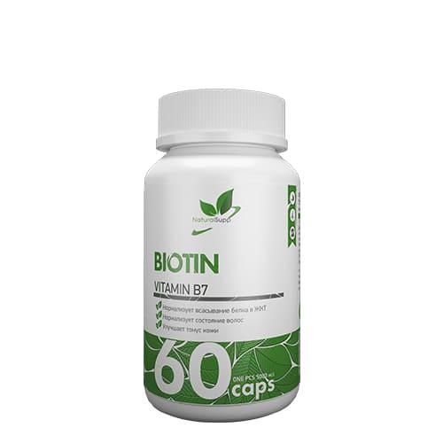 Natural Supp: Biotine (60 капс)