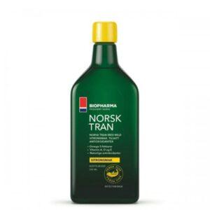 Biopharma: Norsk Tran Omega-3 (250 мл)