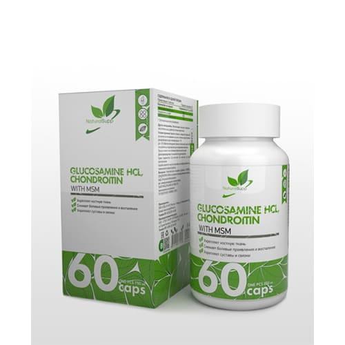 Natural Supp: Glucasamine-Chondroitine (60 капс)
